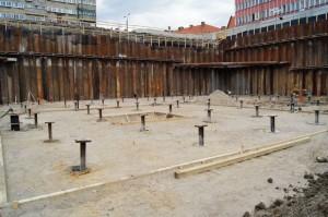 Podziemny parking we Wrocławiu