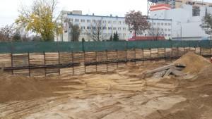 Wykonanie obudowy wykopów Wrocław ul. Kurkowa– Alfa Dach