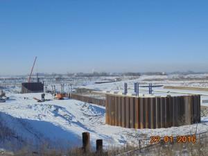 Budowa zbiornika retencyjnego Racibórz Dragados