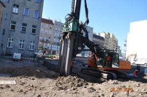 Zabezpieczenie wykopu Baumatech Wrocław