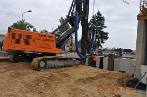 Zabezpieczenie wykopu Mirosławice - Akbik Budownictwo