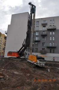 Wrocław zabezpieczenie wykopu