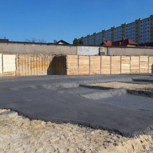 Ścianka berlińska bezwibracyjna