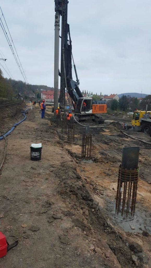 Pale CFA - Zintegrowany przystanek kolejowy Wałbrzych Śródmieście (Centrum)