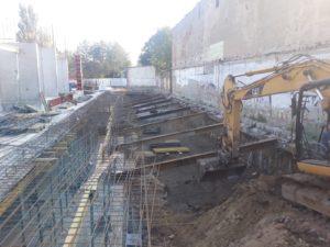 Ścianka berlińska wwibrowywana Łódź oraz palisada żelbetowa VDW