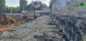 Ścianka berlińska wwibrowywana Łódź