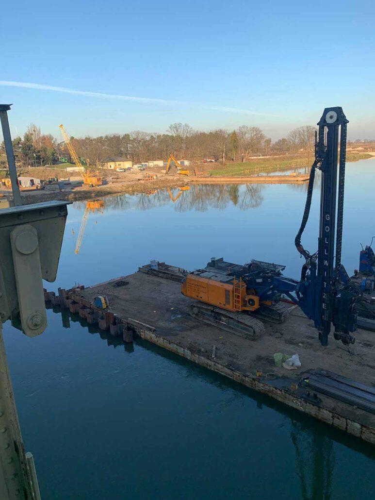 Modernizacja stopnia wodnego Rędzin