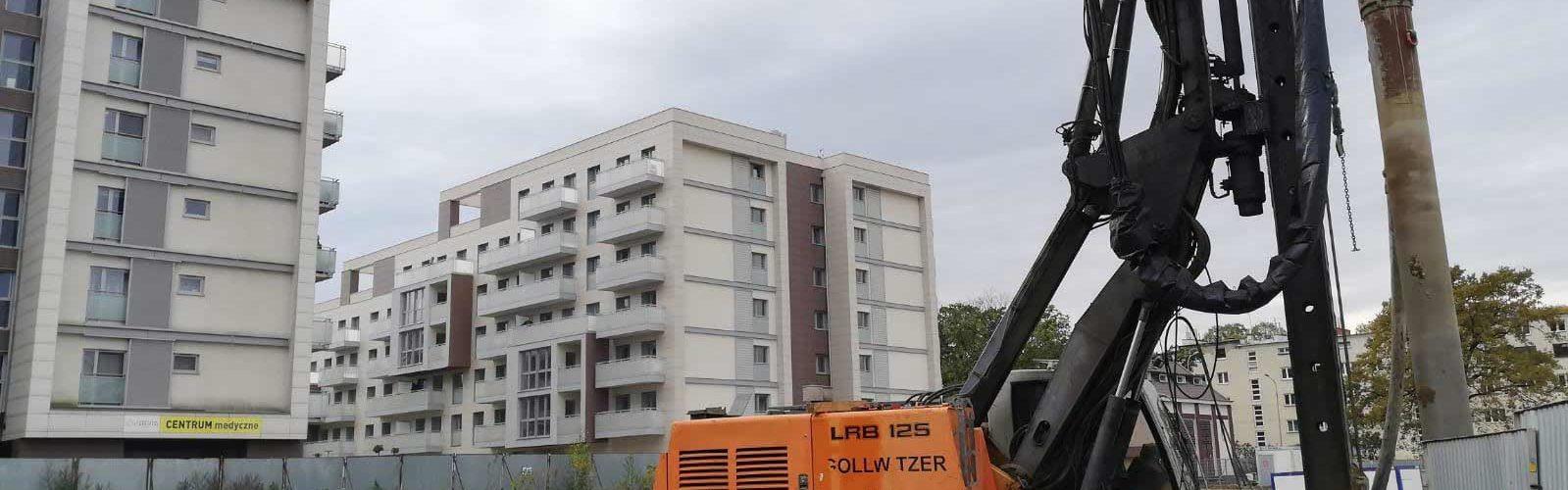 Ścianka berlińska bezwibracyjna betonowana oraz palisada żelbetowa VDW