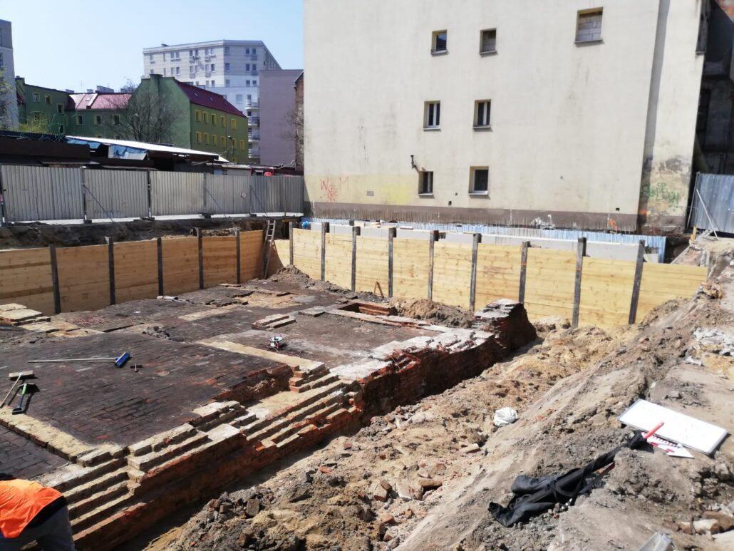 Ścianka berlińska bezwibracyjna betonowana oraz pale VDW